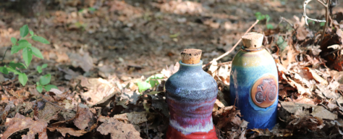 Ceramic water bottles