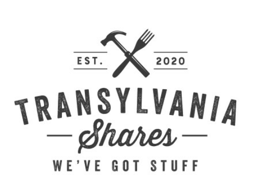 Transylvania Shares Virtual Grand Opening scheduled for June 21st. Have stuff you want to share?