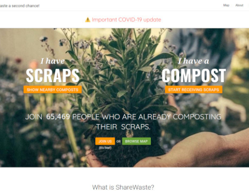 ShareWaste – an app to help us put our community food scraps to use
