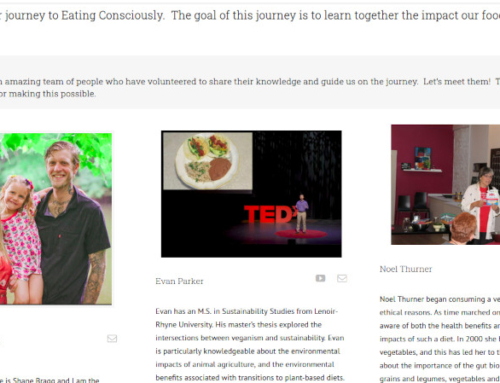 Announcing Eating Consciously!
