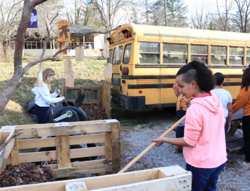 Davidson River School needs help getting their garden ready for students